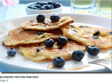 Blueberry Protein Pancakes to Boost Your Metabolism (free recipe)