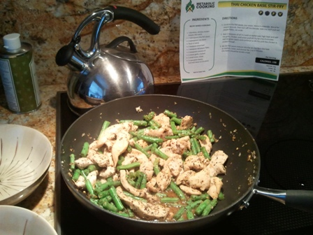 Chicken Stir-fry with a Twist … Meet Basil